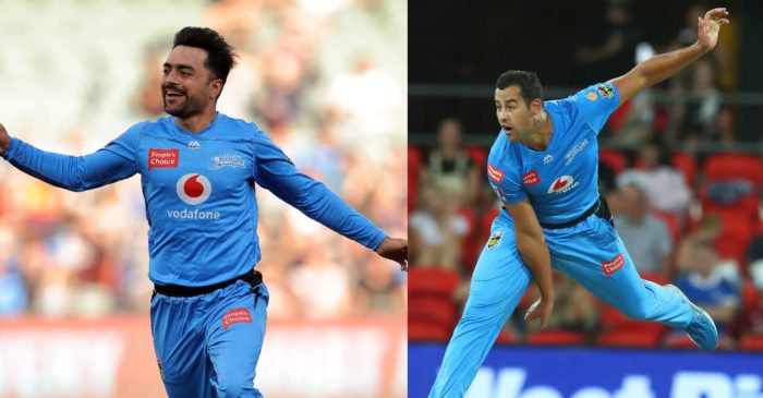 BBL 10: Rashid Khan, Wes Agar lead Adelaide Strikers to a 5-wicket win over Melbourne Stars