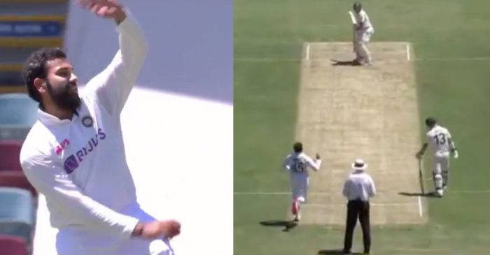 AUS vs IND – WATCH: Rohit Sharma bowls a medium-paced delivery to complete Navdeep Saini's over