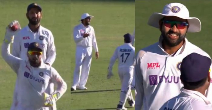 WATCH: Rohit Sharma laughs at Rishabh Pant after latter failed to convince Ajinkya Rahane for DRS