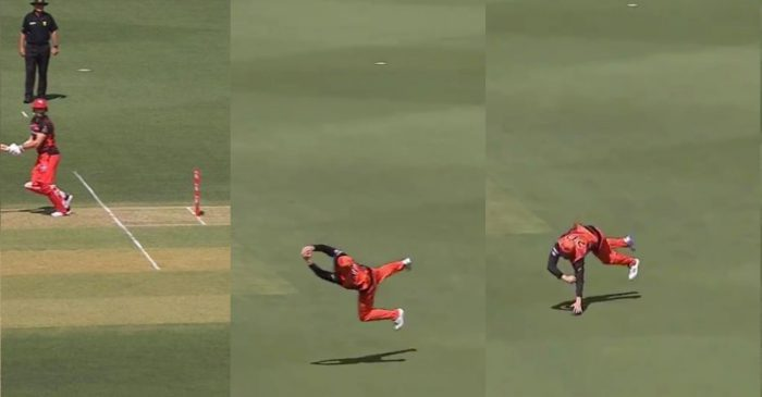 BBL 10: WATCH – Jason Roy takes a stunning catch to dismiss Shaun Marsh
