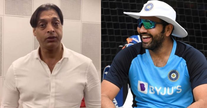 Shoaib Akhtar responds hilariously when asked to describe Rohit Sharma in one word