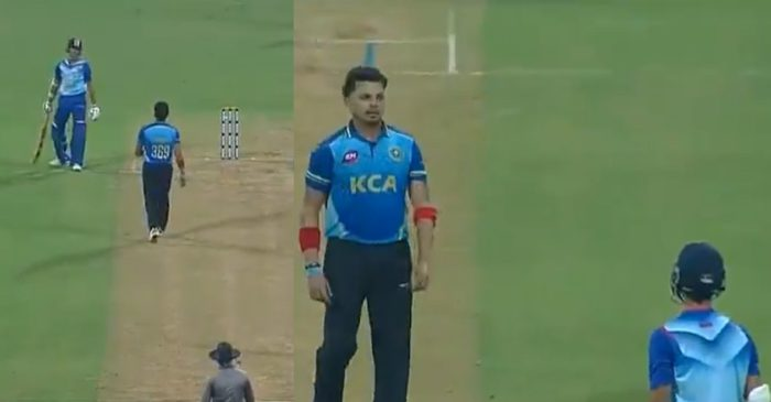 WATCH: S. Sreesanth sledges Yashasvi Jaiswal; the young batsman comes up with a perfect response