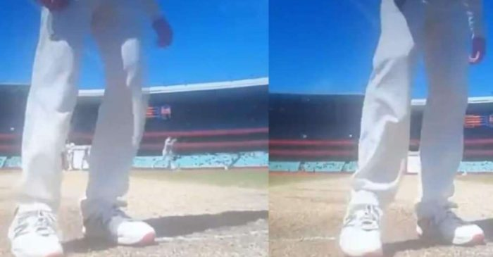 AUS vs IND: WATCH – Steve Smith shadow bats and removes Rishabh Pant's guard marks on the crease