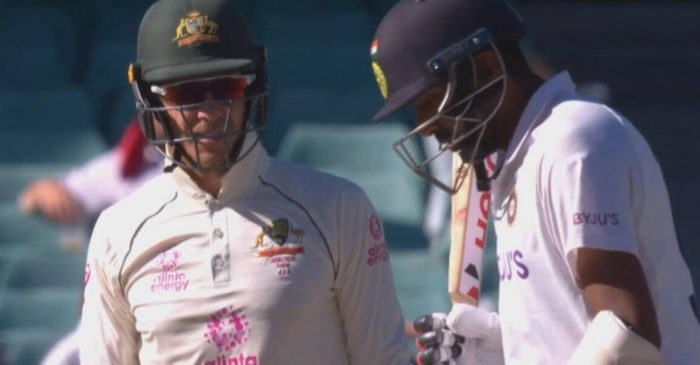 AUS vs IND: WATCH – Tim Paine sledges Ravichandran Ashwin; the Indian spinner responds in style