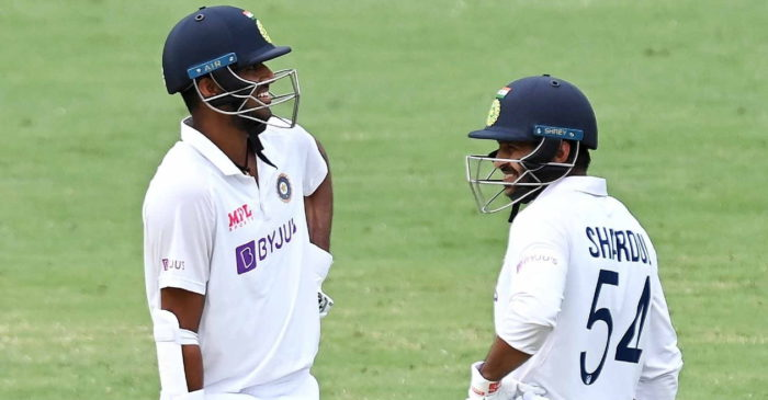 Twitter reactions: Shardul Thakur, Washington Sundar set record partnership for India at The Gabba
