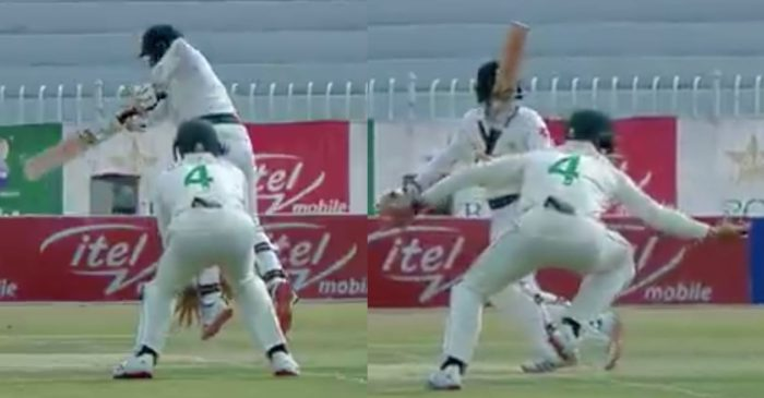 PAK vs SA – WATCH: Aiden Markram takes a brilliant catch at short-leg to dismiss Abid Ali