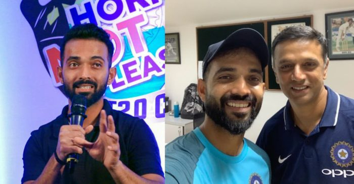 Ajinkya Rahane reveals Rahul Dravid's golden advice that worked like magic in the Australia tour
