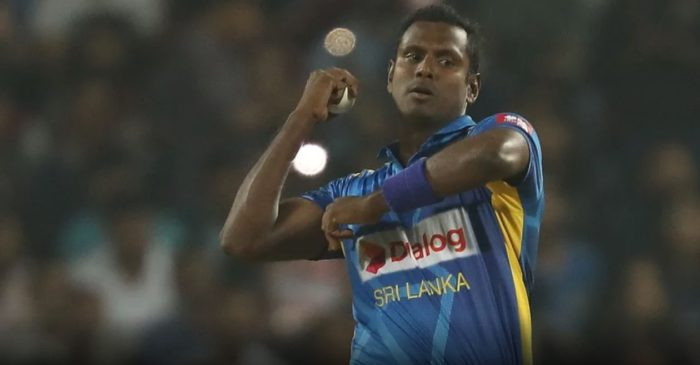 Angelo Mathews named Sri Lanka's stand-in captain for West Indies T20Is