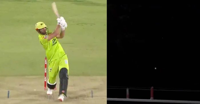 WATCH: Ben Cutting hits Morne Morkel for a gigantic six in BBL 10 Knockout