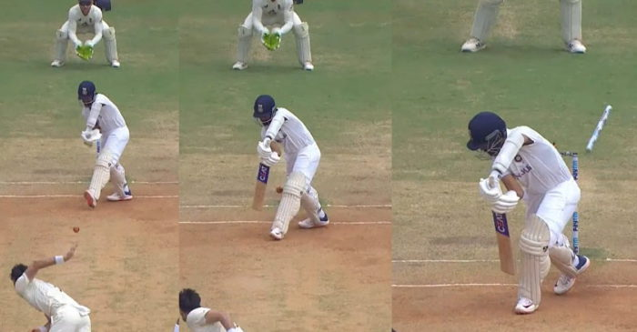 IND vs ENG: WATCH – James Anderson cleans up Ajinkya Rahane with a splendid reverse-swinging delivery