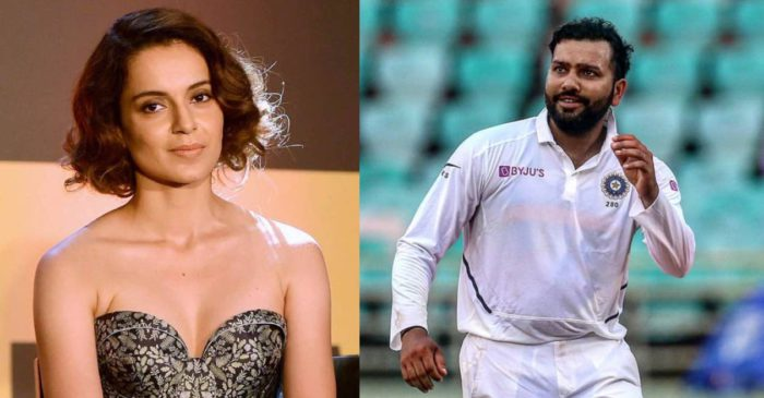 Twitter removes Kangana Ranaut's derogatory response to Rohit Sharma's post with hashtag India Together