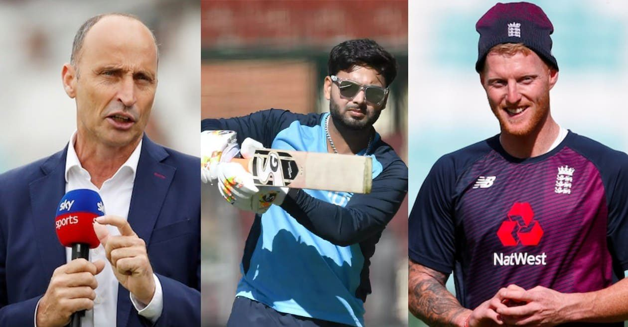 Nasser Hussain compare Rishabh Pant with Ben Stokes; reckons both players have the same attitude