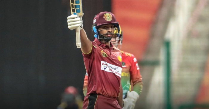 Twitter reactions: Nicholas Pooran steamrolls bowlers with incredible 26-ball 89 in T10 League