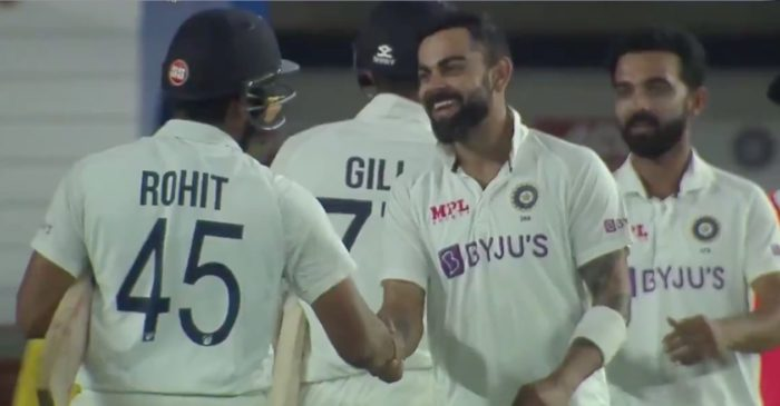 Twitter erupts as Axar Patel and Ravichandran Ashwin help India trump England within two days