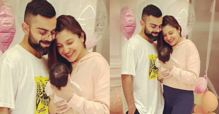 Virat Kohli, Anushka Sharma reveal their daughter's name, share first photo