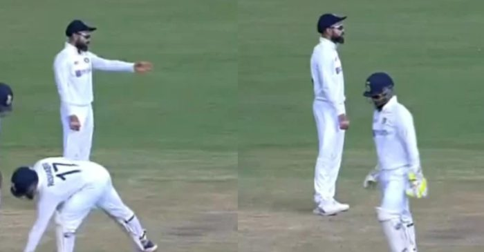 IND vs ENG: Virat Kohli complains to umpire about England batsmen running in middle of the pitch