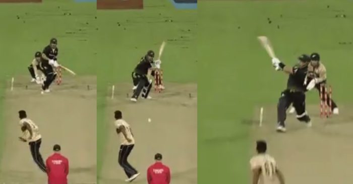 NZ vs AUS: WATCH – Aaron Finch plays a stunning switch-hit shot for a six off Ish Sodhi in 3rd T20I