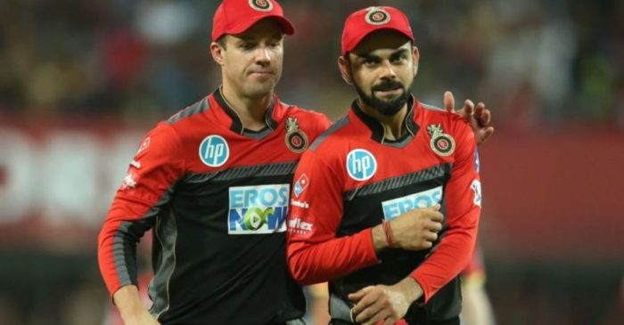 AB de Villiers throws an interesting challenge to Virat Kohli ahead of IPL 2021