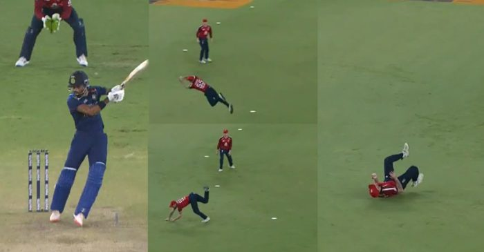 IND vs ENG – WATCH: Ben Stokes takes a flying catch to dismiss Hardik Pandya in 4th T20I