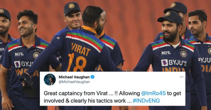 Twitter reactions: India level series against England with a thrilling win in 4th T20I