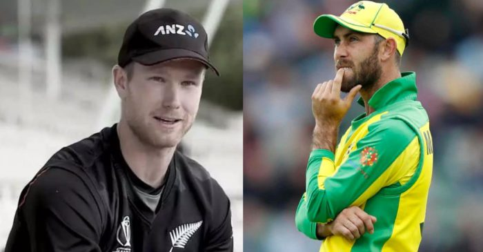 James Neesham brutally trolls Glenn Maxwell after Aussie all-rounder tries poking fun at his Kiwi counterpart