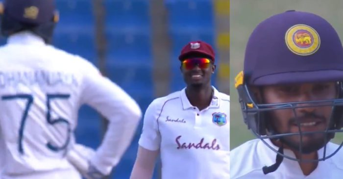 "WI vs SL, WATCH: ""Happy hooker boy"" – Jason Holder hilariously sledges Dhananjaya de Silva in 2nd Test"