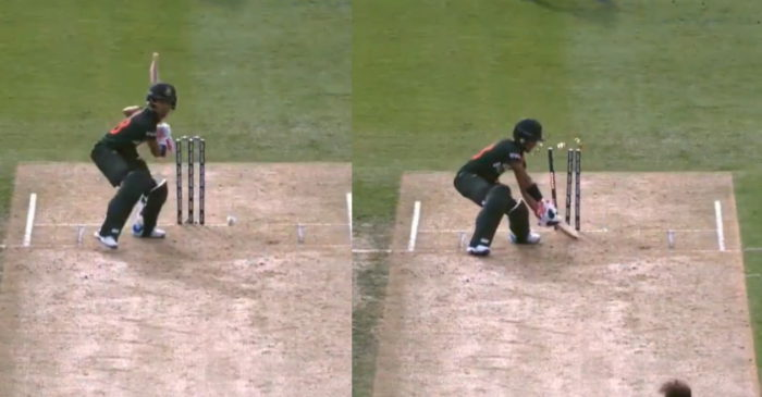 NZ vs BAN: WATCH – Lockie Ferguson knocks over Afif Hossain with a 145 kmph thunderbolt