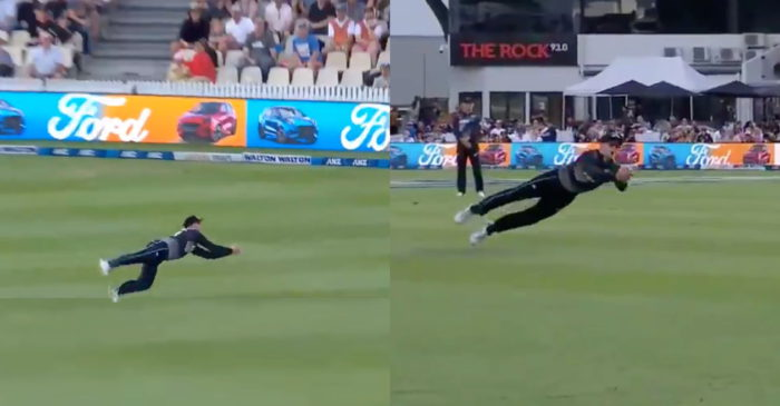 NZ vs BAN: WATCH – Martin Guptill takes an outrageous catch to dismiss Shoriful Islam