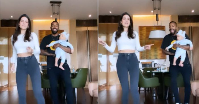 Harik Pandya, Natasa Stankovic take up 'Don't Rush' challenge with son Agastya; video goes viral
