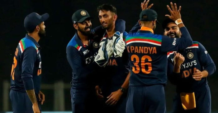 Prasidh Krishna now tops the list of best bowling figures by an Indian on ODI debut