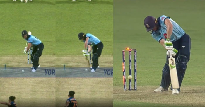 IND vs ENG: WATCH – Prasidh Krishna cleans up Jos Buttler with a ripping yorker in 2nd ODI