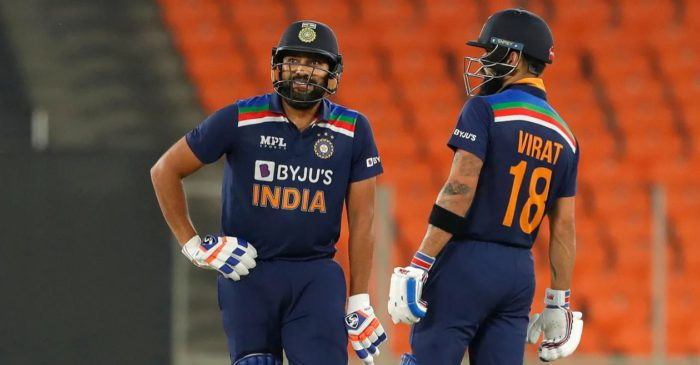 Virat Kohli, Rohit Sharma move up in ICC Men's T20I Player Rankings