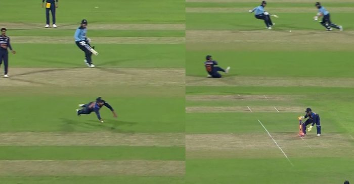 IND vs ENG: WATCH – Rohit Sharma outfoxes Jason Roy with a sensational run-out in 2nd ODI