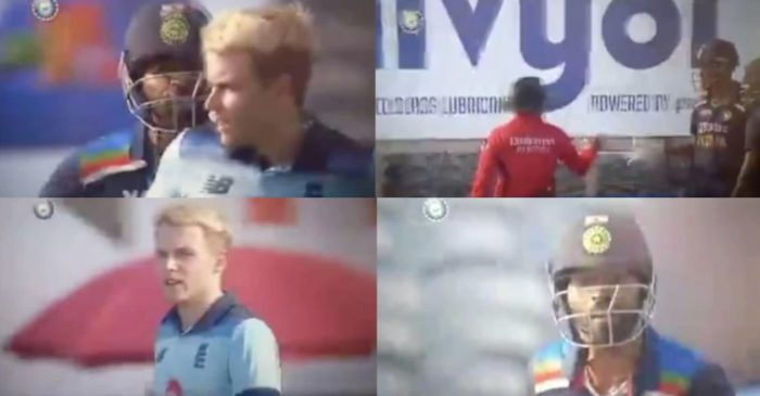 IND vs ENG: WATCH – Sam Curran and Hardik Pandya engage in heated verbal exchange during the 2nd ODI