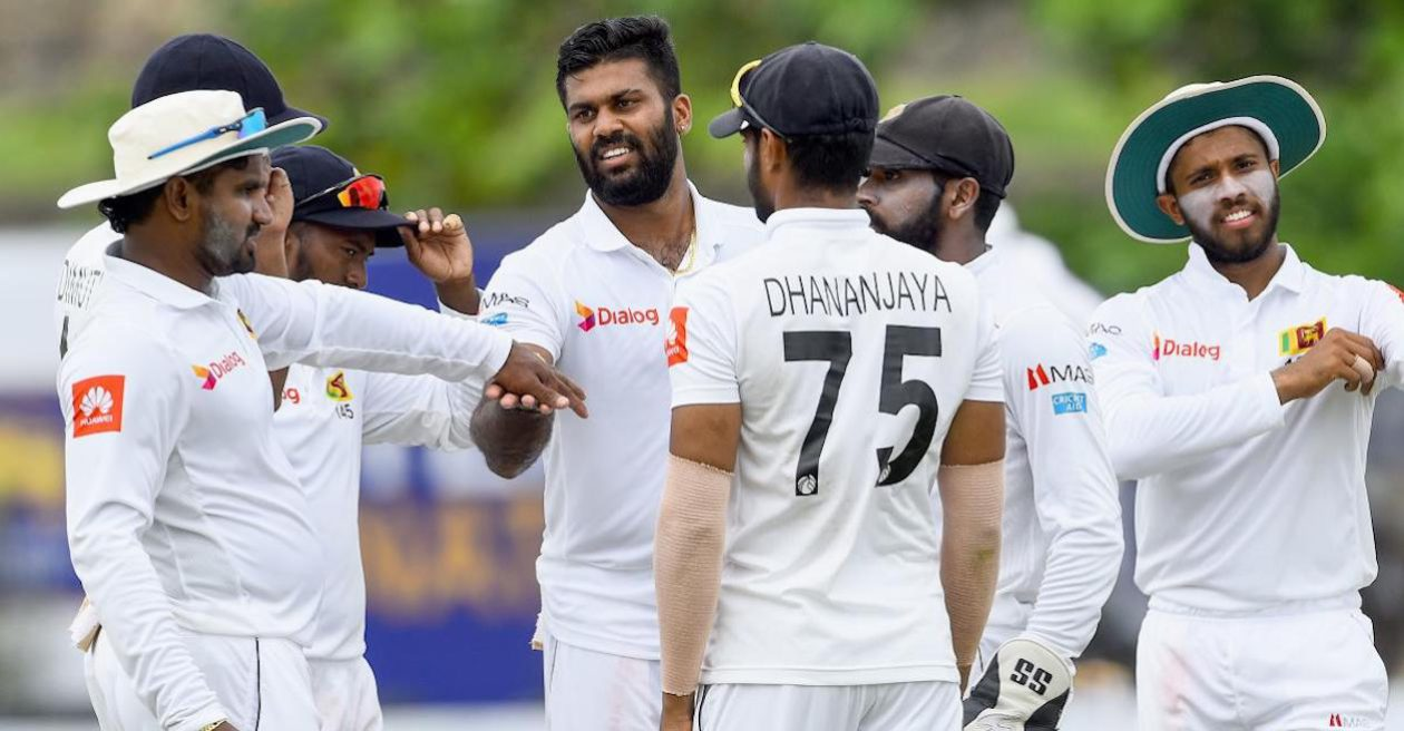 Sri Lanka Cricket announce 17-man squad for West Indies Test series