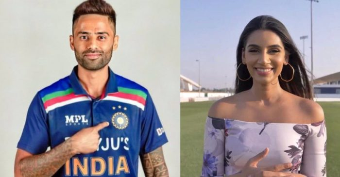 When Surya Kumar Yadav teased Jasprit Bumrah's wife-to-be Sanjana Ganesan on Twitter