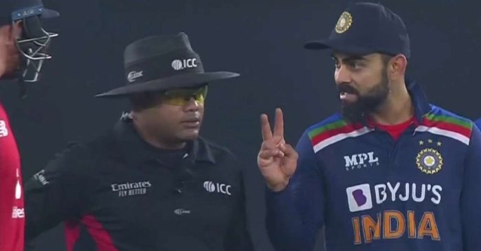 IND vs ENG: WATCH – Virat Kohli caught up in heated exchange with Jos Buttler during the fifth T20I