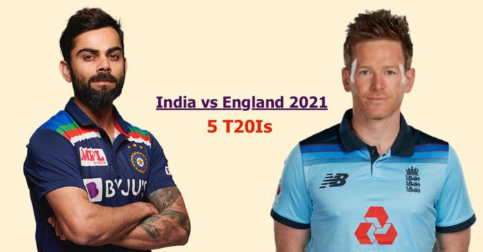 India vs England T20I Series 2021 Full Schedule, Match Timings, Squads, Venue & Other Details