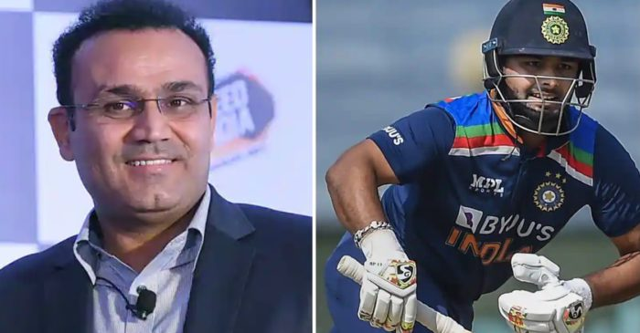 """He reminds me of my early days"" – Virender Sehwag heaps praise on Rishabh Pant"