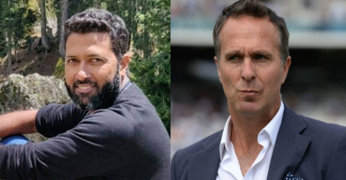 IND vs ENG: Wasim Jaffer mercilessly trolls Michael Vaughan for his 'MI better team than India' claim