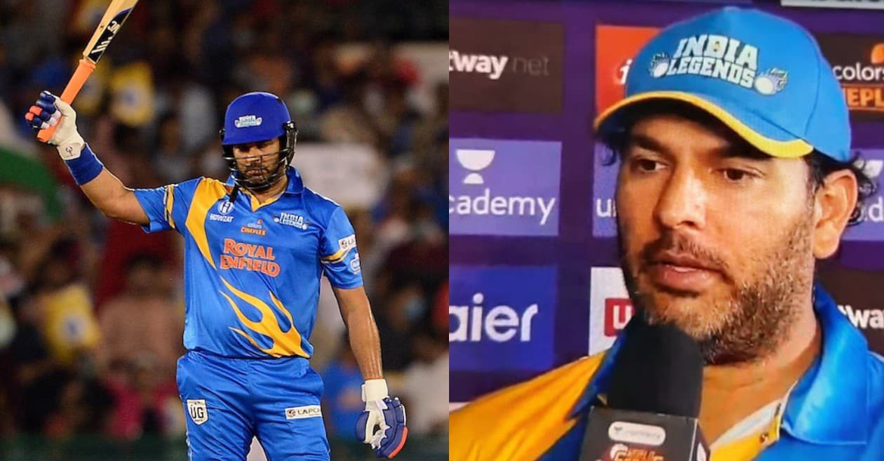 Yuvraj Singh reveals why he didn't hit 5th six after smashing four maximums in a row in the Road Safety match