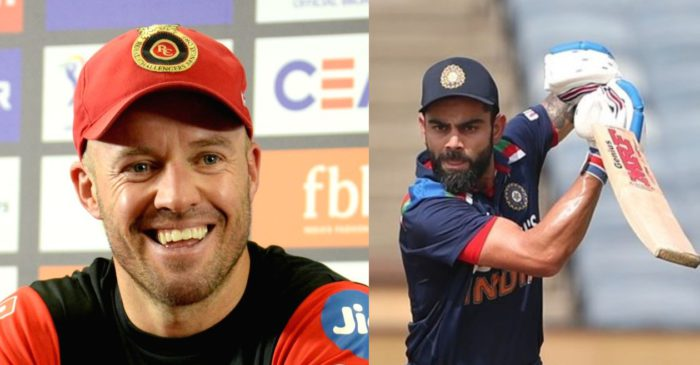 AB de Villiers share details about his advice to Virat Kohli during India vs England series