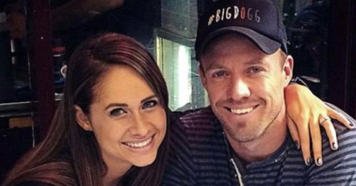 AB de Villiers' wife Danielle reveals where the RCB star proposed her for marriage
