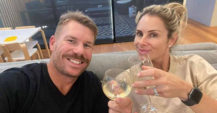David Warner shares a lovely post for wife Candice on their sixth marriage anniversary