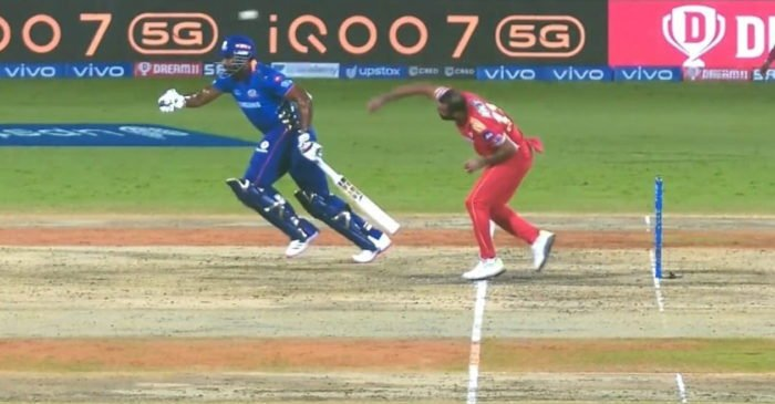 IPL 2021: Netizens lash out at MI all-rounder Kieron Pollard for running before the ball was bowled
