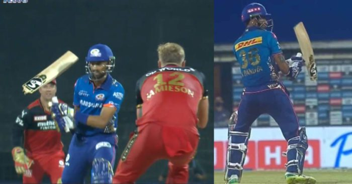 IPL 2021: WATCH – Kyle Jamieson's yorker breaks Krunal Pandya's bat into two