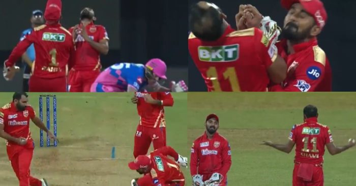 IPL 2021 – WATCH: Mohammed Shami collides with KL Rahul while taking a catch of Ben Stokes