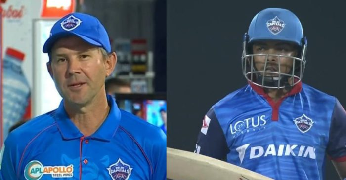 IPL 2021: DC coach Ricky Ponting spill beans on his struggles of coaching Prithvi Shaw