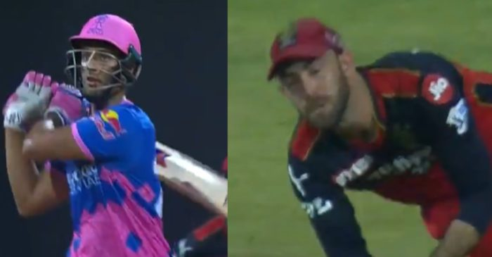 IPL 2021, RCB vs RR: WATCH – Glenn Maxwell takes a stunning catch to dismiss Shivam Dube