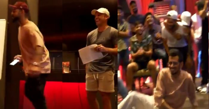 IPL 2021: WATCH – Virat Kohli enacts 'The Ugly Duckling'; AB de Villiers and Yuzvendra Chahal too join the fun
